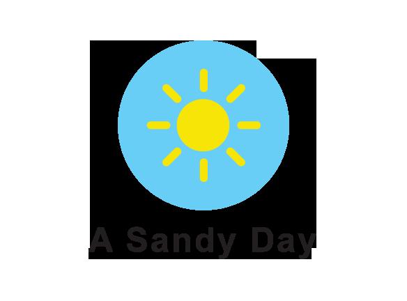 A SANDY DAY